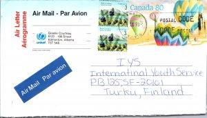 Canada, Postal Stationary, Balloons