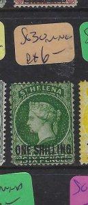 ST HELENA  (P0105B)  QV  1/-      SG  30   MNG