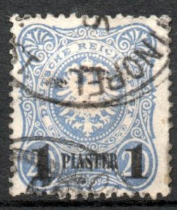 Germany Offices Turkey 1884 #3 VF *USED*