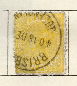 Queensland 1882-95 Early Issue Fine Used 4d. NW-113695