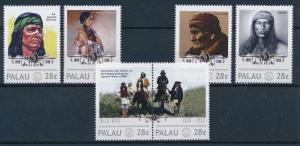 [80925] Palau  Native Americans Indians Apache Wars MNH