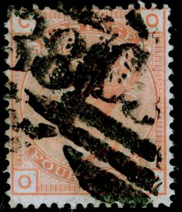 SG152, 4d vermilion plate 15, good used. Cat £300. C38 CALLAO.