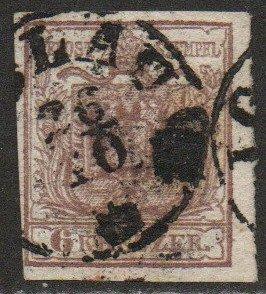 Austria Sc #4 Used; Mi. #4