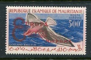 Mauritania #C16 Type II Europa Overprint see footnote MNH