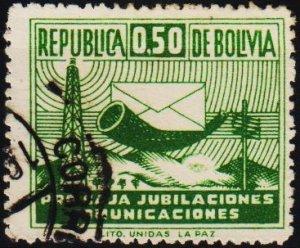 Bolivia. 1951 50c S.G.553 Fine Used