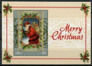 Nevis Stamps 2018 MNH Merry Christmas Santa 1v M/S