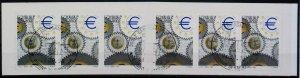 2001 Giornata dell'Europa Libretto Usato Annullo FDC Used Booklet 14809