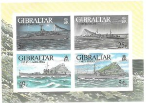 1996    GIBRALTAR  -  SG.  MS  779  -  WARSHIPS   -  ISSUE 4 -   MNH