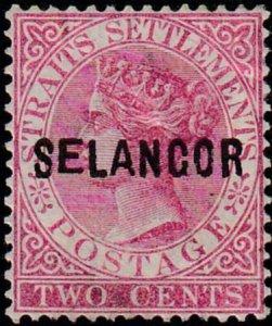 Malaya - Selangor 1882-1883 SC 7 MLH