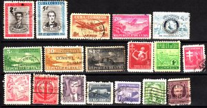 Cuba 18 different used