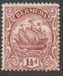Bermudes 1934  Scott No. 84  (N*)
