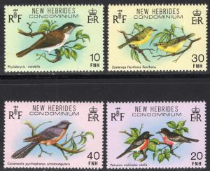NEW HEBRIDES-FRENCH SCOTT 296-299