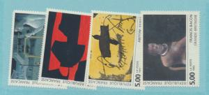 France Scott #2314 To 2317, Contemporary Art Issue From 1992 - Free U.S. Ship...