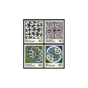 New Zealand 894-897,MNH.Michel 1017-1020. Maori Rafter Paintings,1988.