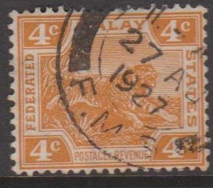 Malaya Federation Sc#57 Used