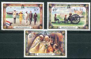 Montserrat SC#363-5 Queen's Royal Visit, set MH