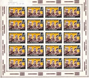Hadhramaut (Aden) 1967 Astronauts Grissom,White,Mini-Sheetlet IMPERFORATED MNH