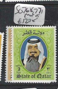 QATAR  (PP2306B)  SHEIKH  SG 768 , 771     MNH