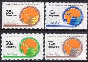 Singapore 491-494 MNH VF