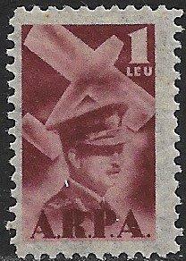 ROMANIA 1931 1L AVIATION FUND REVENUE BFT.4 MH