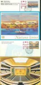 UNITED  NATIONS  2004  MY DREAM FOR PEACE ETC   FIRST DAY COVERS AS SHOWN