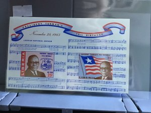 Republic of Liberia President Truman's 70th Birthday MNH stamps sheet R26973