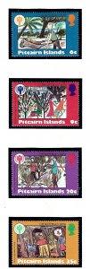 Pitcairn Is 188-91 MNH 1979 Christmas            (KA)