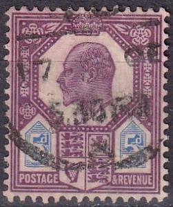 Great Britain #134   F-VF Used CV $22.50 (A19504)