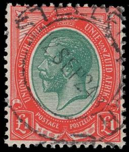 South Africa Scott 2-16 Gibbons 3-17 Used Set of Stamps
