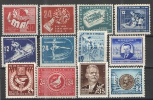 Germany - GDR/DDR Collection MH VG/F