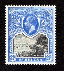 ST. HELENA  SC# 65  VF/MLH