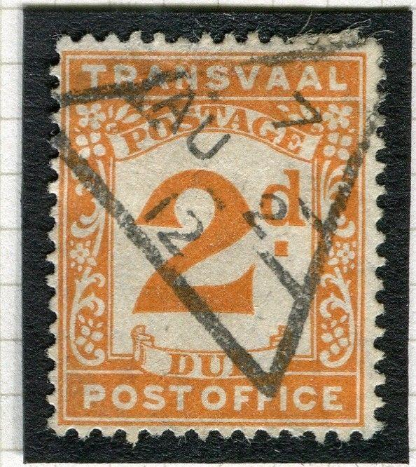 TRANSVAAL Postage Due issue Ed VII CAPE TOWN Postmark on 2d. value