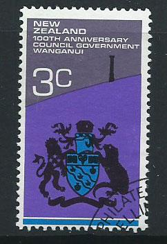 New Zealand SG 978 Very Fine Used