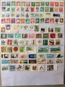 German 100+ stamps - Lot 11