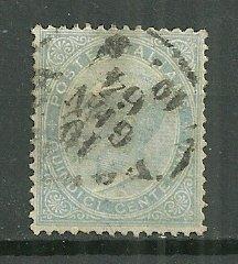1863-77 Italy 29  15c Emmanuel II used
