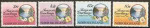 Norfolk Island 1991 Scott 510-513 Christmas MNH