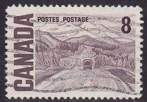 Canada 461 Hinged Used 1967 Alaska Highway