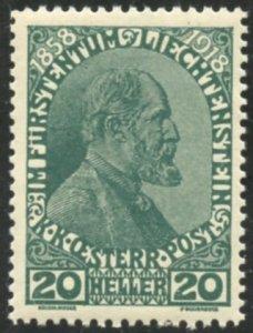 Liechtenstein Scott 10 MVFNHOG - Prince Johann II - SCV $5.50