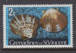 St Vincent Grenadines 34 Seashell MNH VF