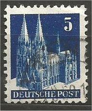GERMANY, 1948, used 5pf, Munich Scott 636