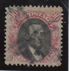 USA #122 Used Key Stamp
