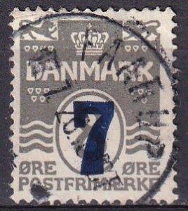 Denmark #181  F-VF Used CV $4.75
