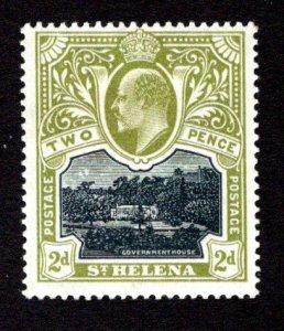 ST. HELENA  SC# 52  FVF/MLH