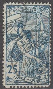 Switzerland #100 F-VF Used CV $35.00  (S853)