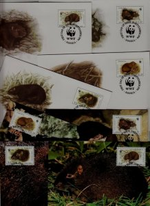 Jamaica 8 covers/cards WWF-96/Animals