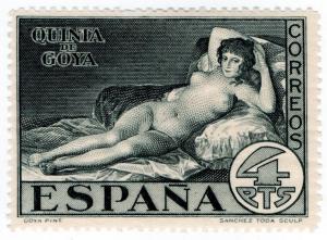 (I.B) Spain Postal : Quinta de Goya 4P