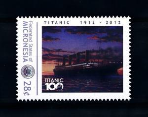 [93164] Micronesia  Ships Titanic  MNH