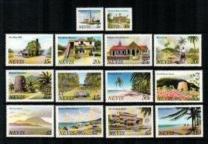 Nevis #121-134  MNH  Scott #8.35