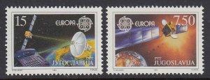 Yugoslavia Europa Satellites mnh