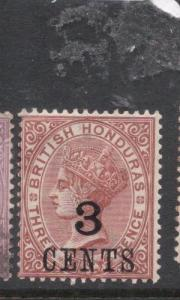 British Honduras SG 38 MOG (7dhv)